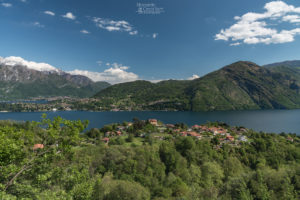 Panorama sulla Tremezzina vista dalla Chiesetta degli Alpini